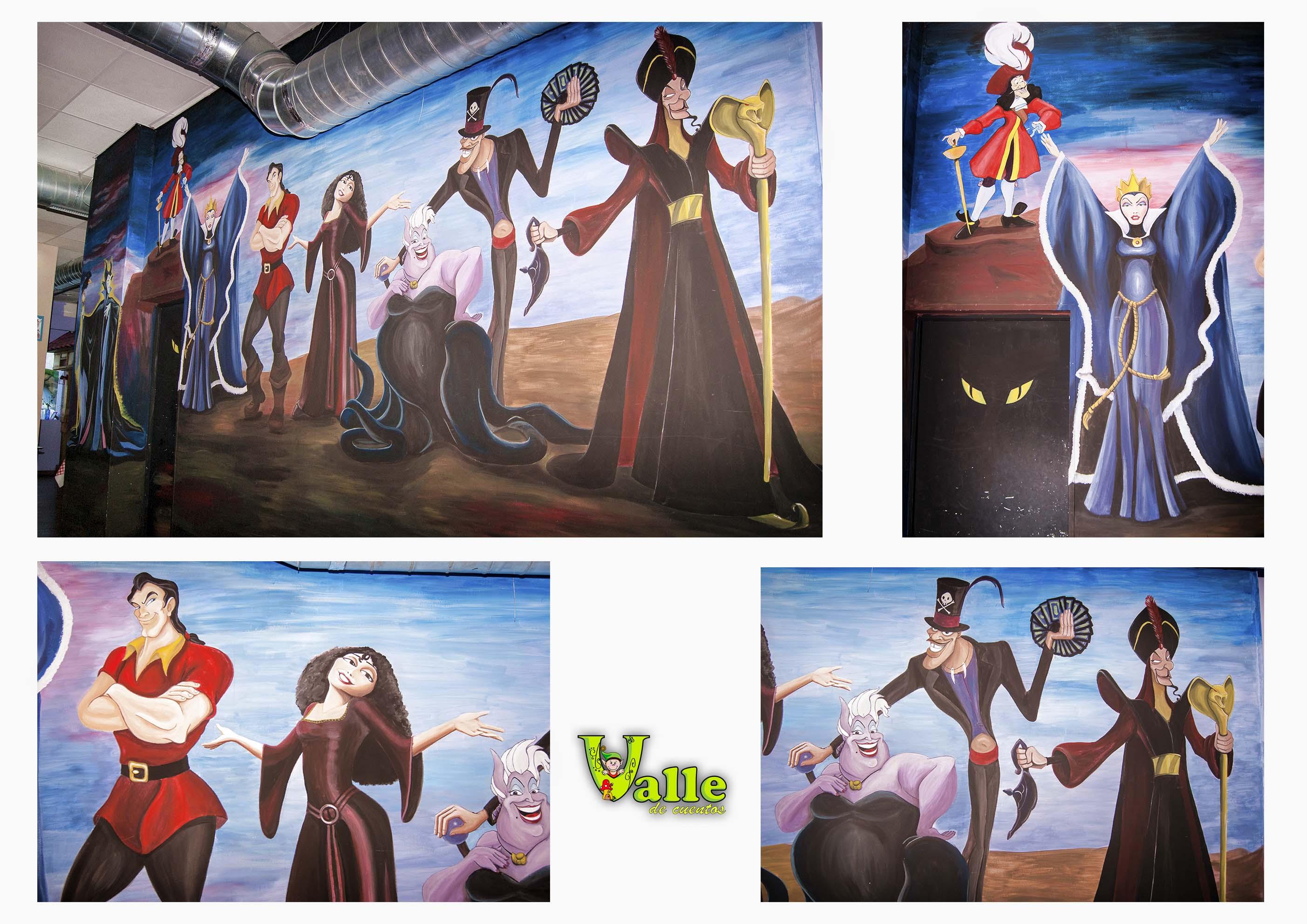 mural villanos